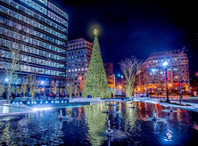 CityCenterDC Christmas Tree - Washington, DC