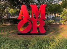 @doublemartini AMOR statue at National Gallery of Art Sculpture Garden in Washington, DC