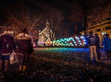 Free activities and things to do this winter in Washington, DC - Georgetown GLOW holiday light installation