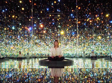 @golightly - Yayoi Kusama's Infinity Mirrors Exhibit at the Hirshhorn - Museum Exhibits in Washington, DC