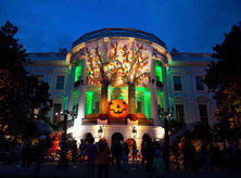 Halloween at The White House - Washington, DC
