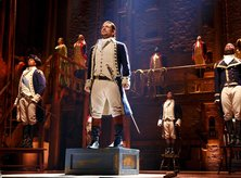Lin-Manuel Miranda's 'Hamilton' at the John F. Kennedy Center for the Performing Arts in Washington, DC