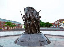 African American Civil War Memorial Statue