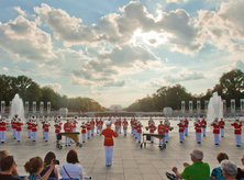 Summer Concert at WWII Memorial