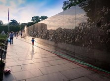 @jkayephotography - Morning at the Korean War Veterans Memorial on the National Mall - Historic site in Washington, DC