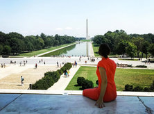 @julia_brahms - Summer at the Lincoln Memorial on the National Mall - Memorials in Washington, DC