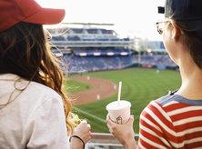 @lacristinaangelica - Women at Washington Nationals Game - Major League Baseball in Washington, DC
