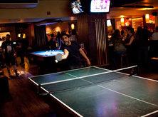Playing ping pong at Breadsoda - Bars and restaurants where you can play ping pong in Washington, DC
