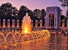 @marcus_ww - Summer sunset at the World War II Memorial - Things to do in Washington, DC