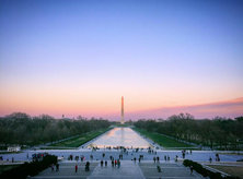 @mcdubs88 - Lincoln Memorial Reflecting Pool at Sunset - Memorials in Washington, DC