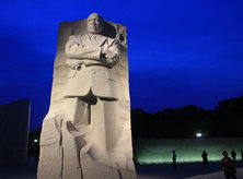 MLK Memorial at Night - National Mall - Washington, DC