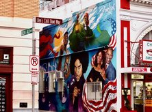 @personwhotakesphotos_ Ben's Chili Bowl Street Mural on U Street