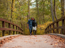 Couple Walking in Rock Creek Park - Parks & Outdoor Activities in Washington, DC