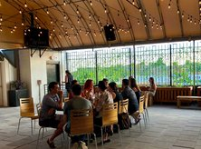 Rooftop wine garden at City Winery in Ivy City - Rooftop bars and restaurants in Washington, DC