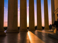 @sophiavogtphotography - Sunset at the Jefferson Memorial - Things to do on the National Mall in Washington, DC