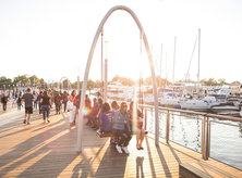 Recreation Pier at The Wharf on the Southwest Waterfront - Dining, Shopping and Entertainment Destination in Washington, DC