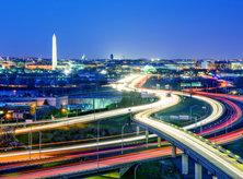 Washington, DC Skyline at Night - The Capital of the United States of America