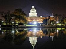 @yesitscess - United States Capitol West Front at Night - Washington, DC