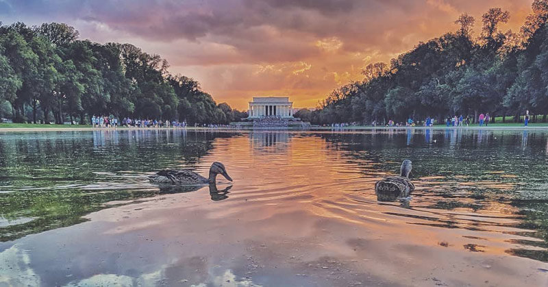 Visiting The Lincoln Memorial In Washington Dc