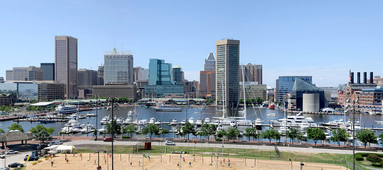 Visit Baltimore to eat crabs and explore a historic seaport