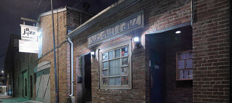Travel back to the 1930s at Blues Alley