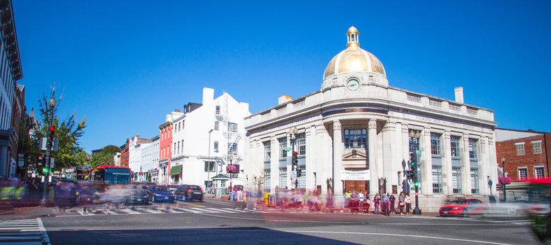 Shop 'til you drop in historic Georgetown