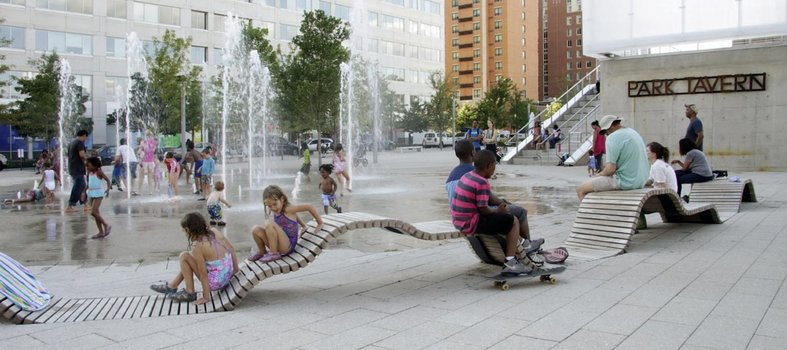 Chill out at Capitol Riverfront's Canal Park