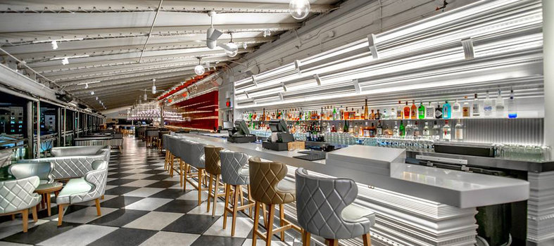 Unwind at one of the W Hotel's snazzy lounges