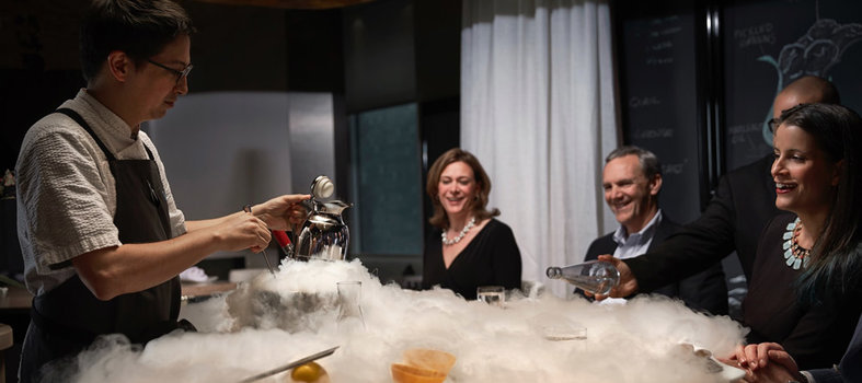 Take in the culinary genius of José Andrés at minibar