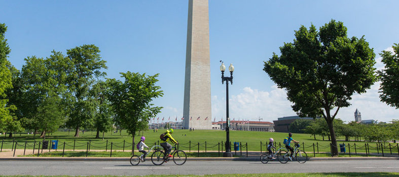 You will experience DC's stunning views and sites like never before.