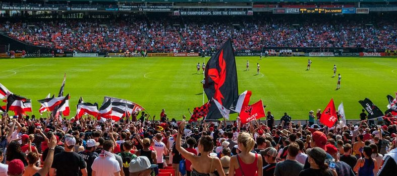 Cheer for D.C. United at RFK Memorial Stadium