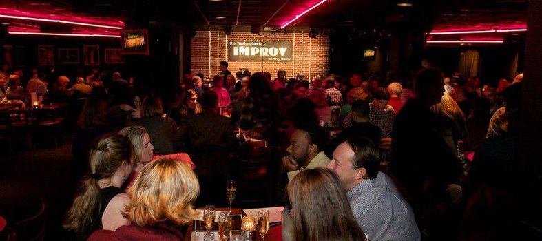 Buckle up for laughs at DC Improv