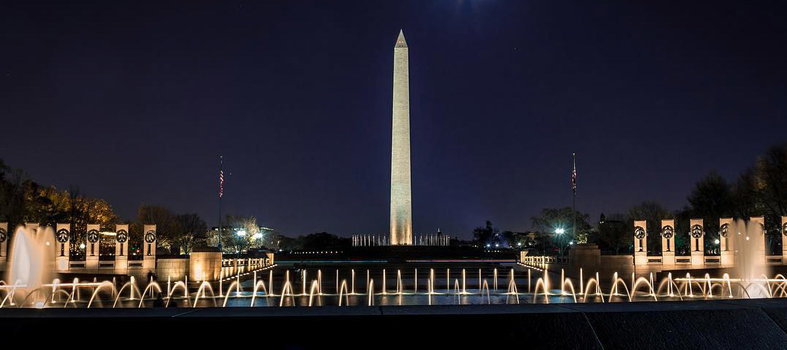 Take in the jaw-dropping beauty of the National Mall