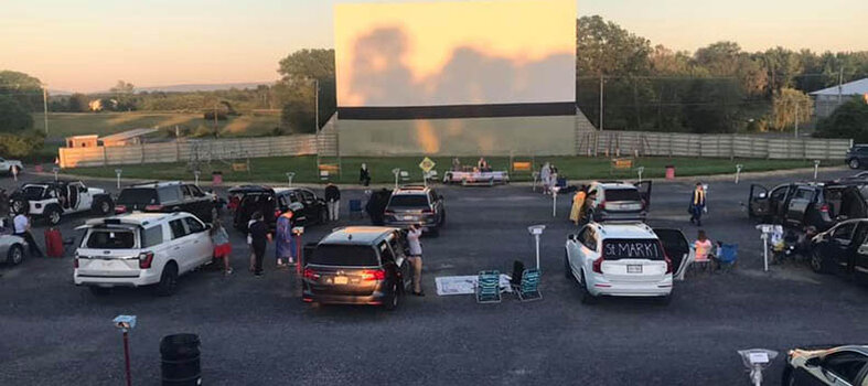 The Family Drive-In Theatre in Stephens City