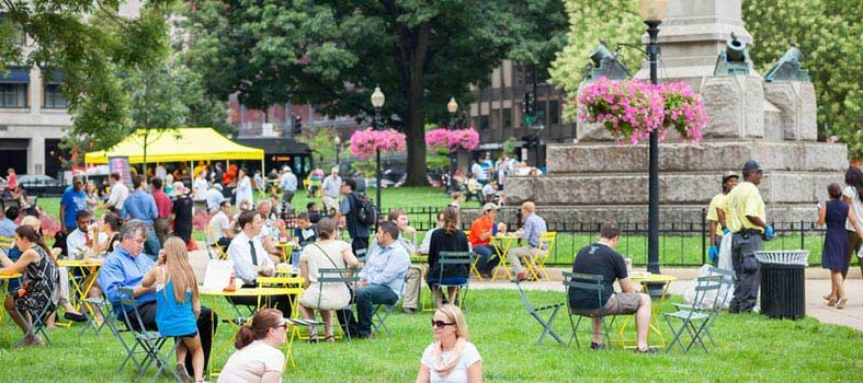 Head to Farragut Square for Friday fun