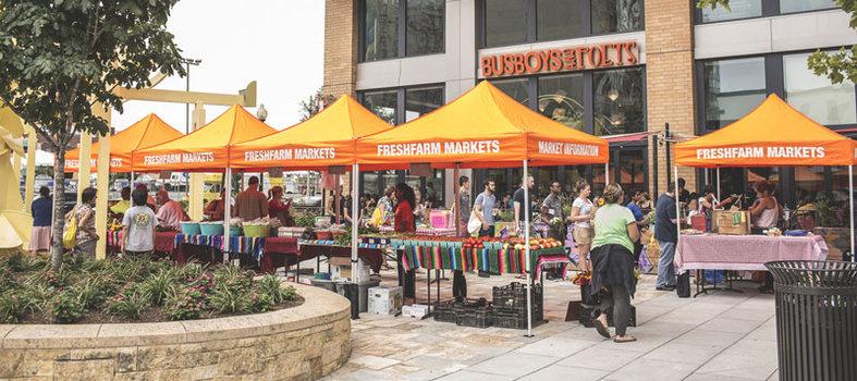 Mount Vernon Triangle FRESHFARM Market