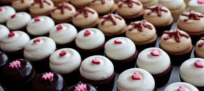 Take a sweets break with a celebrity cupcake