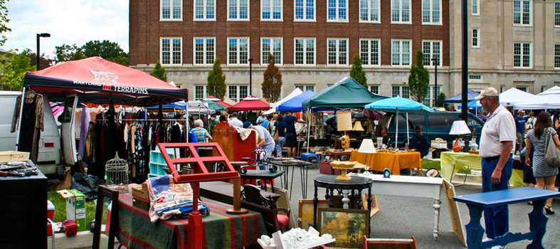 Dig for vintage treasures at the Georgetown Flea Market