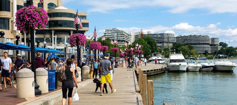 Welcome summer by visiting Georgetown's waterfront