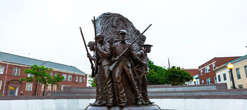 Tour the African American Civil War Museum