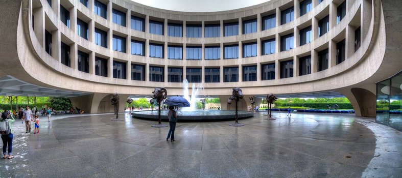 Spend hours exploring the Hirshhorn Museum and Sculpture Garden