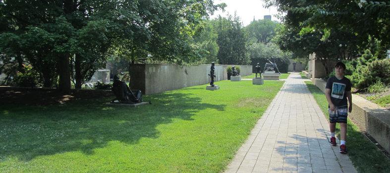 Hirshhorn Museum's Sculpture Garden
