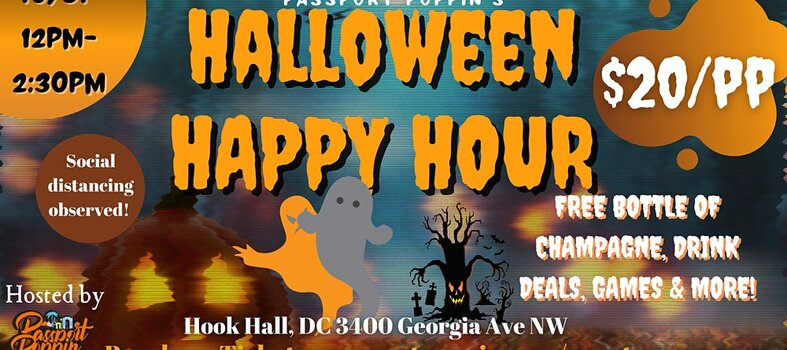 Hook Hall Halloween Happy Hour – Oct. 31