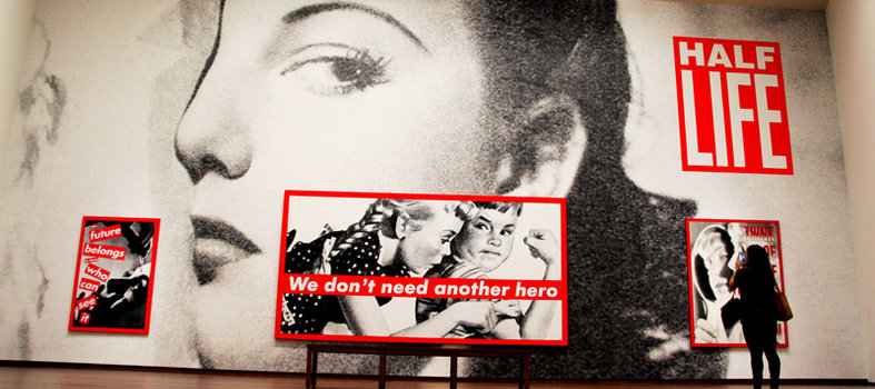 Profiles from Barbara Kruger