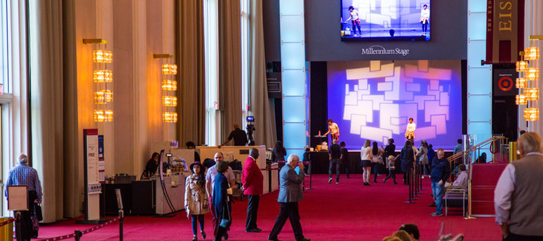 Enjoy a free performance at the Kennedy Center's Millennium Stage