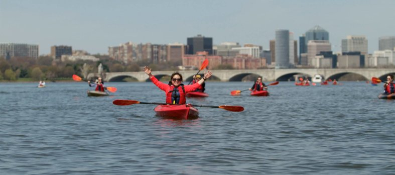 Get active on the Potomac