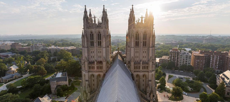 Hunt for gargoyles at the Washington National Cathedral