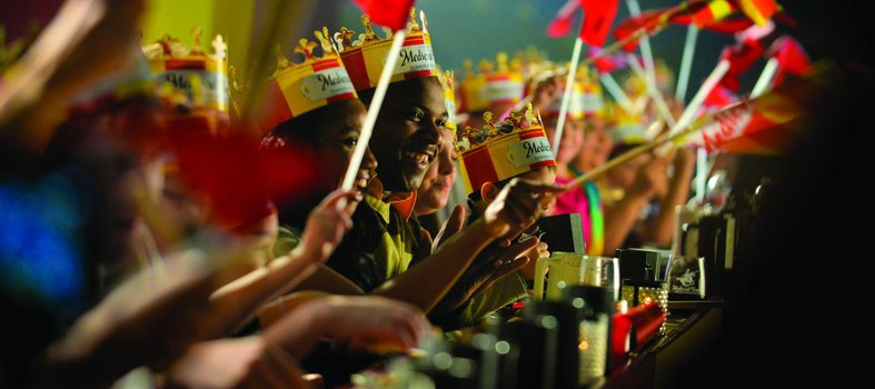 Revisit the era of knights and jousting at Medieval Times
