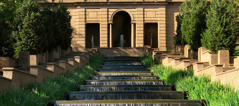 Visit the magnificent Meridian Hill Park