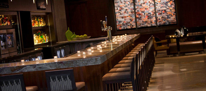 Settle in for drinks at miXX Lounge